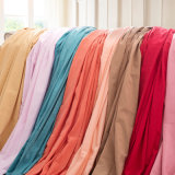 100% prodotti intessuti del panno morbido della saia del cotone per la camicia