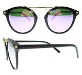 2017 mulheres polarizadas novas dos óculos de sol do vidro de Sun
