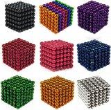 magneten van het Gebied van het Neodymium van de Bal 216PCS van het Raadsel van 5mm de Magische Magnetische met Doos