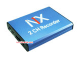 Do SD mini DVR receptor sem fio mini DVR do cartão 2CH