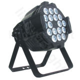 Etapa luz del disco china 18X18W RGBWA PAR LED UV