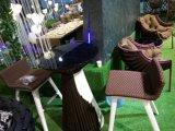 Sofá de vime do Rattan ajustado para o balcão do hotel
