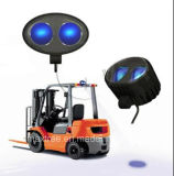 工場直売のフォークリフト青いLEDの警報灯ランプ