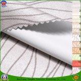Tela tejida apagón impermeable casero de la cortina del telar jacquar del poliester de 2017 francos de la materia textil