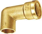 Instalaciones de tuberías de alta calidad de cobre amarillo rectangulares