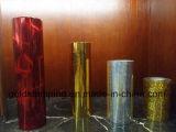Papel de aluminio coloreado de sellado caliente de la hoja del dorado del borde