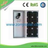 10W, 20W. 30W 새로운 Monocryatalline 실리콘 태양 전지판