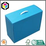 مقبض بلاستيكيّة لامعة لون طبعة يغضّن [ببر كرتون] صندوق