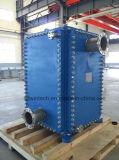 Type de plaque d'arête de hareng de Wbh 400 échangeur de chaleur/plaque et échangeur de chaleur de bâti/échangeur de chaleur de bloc