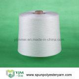 cuerda de rosca hecha girar de costura blanca sin procesar polivinílica 20s/30s/40s