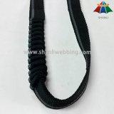 la tessitura di nylon elastica di colore a strisce di 25mm per le mani libera i guinzagli del cane di Runing