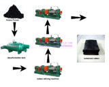 Neumático inútil Full-Automatic que recicla la línea al polvo de goma