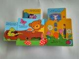 Livre éducatif drôle de panneau d'enfants de traction et de poussée pour des gosses Learning&Playing