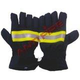 Feuerbekämpfung-Feuerwehrmann schützen Handschuhe, Xhl18011