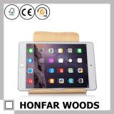 큰 크기 검은 호두나무 목제 기술 iPad 홀더 전화 홀더
