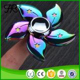 Friemel de Spinner van het Aluminium van het Stuk speelgoed van de Spinner van het Metaal van de Regenboog van de Hand