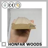 Moulage en bois de placage de matériau de construction de 12 x de 100mm