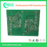 PWB de una sola capa, PWB del oro de la inmersión, tarjeta de circuitos impresos, circuito del PWB