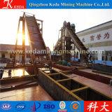 Goldbagger-Gerät, Becherkette-Goldförderung-Bagger