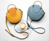 Borsa di cuoio rotonda del sacchetto dell'imbracatura delle donne dell'annata (BDX-171077)