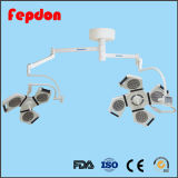 Lámpara quirúrgica de funcionamiento con luz fría del LED