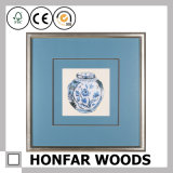 Het Chinese Traditionele Ceramische Schilderen van de Kunst van de Decoratie in Houten Frame