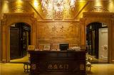 De moderne Houten Deur HDF van Soli van de Stijl voor de School van de Flat van het Hotel voor het Midden-Oosten met Witte Kleur (ds-022)