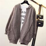 Пальто свитера Knit плащпалаты втулки Batwing женщин свободное