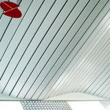 功妙で新しい材料はGの形の白いストリップの天井のタイルを卸し売りする