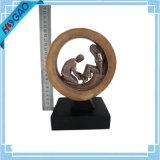 Fútbol de la fantasía individual Premio Trofeo Resina