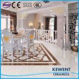 Material de Construcción Doble Carga Blanco Pulati Azulejo de Porcelana Pulida Azulejo de Vitrificado Buena Precio