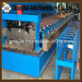 Rolo de aço da plataforma de assoalho do metal da estaca automática que dá forma à maquinaria da máquina