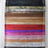 Античная кожа PVC PU крокодила для сумок (8546)