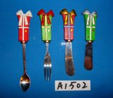 Распространитель украшения рождества с ручкой смолаы