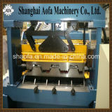 Automatischer Ausschnitt-Stahlmetallfußboden-Plattform-Rolle, die Maschinen-Maschinerie bildet