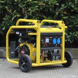 バイソン(中国) BS2500g 2kw 2kVA信頼できる携帯用小さいガソリン発電機によって5.5HPはBiogasの発電機が家へ帰る