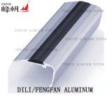 Het Profiel van de Overgang van het aluminium met het Tussenvoegsel van pvc