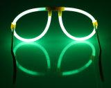 어두운 것에 있는 놀 안경알 빛 (YJD5200)