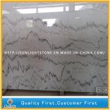 Chinesische Guangxi weiße Marmorplatten für Fußboden-oder Wand-Fliesen