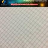 Handfeeling suave de la tela teñida hilado de nylon de la verificación de la tela cruzada del Spandex para la camisa (YD1166)