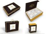 Rectángulos de regalo rígidos modificados para requisitos particulares de la cartulina del papel de embalaje de la impresión para empaquetar