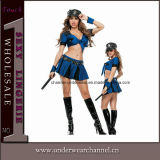 Carnival Adult Girls Women Sexy Flapper Halloween Cop Costume (TCLP3022)