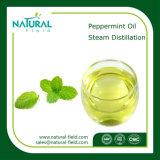 100%の純粋で自然なペパーミントの精油は精油に値を付ける