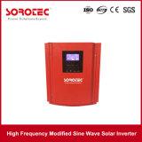 Inversor solar interno da potência do carro do preto do controlador da carga de PWM