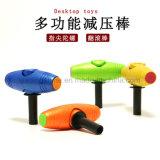 O adulto Desktop deJogo Multi-Function dos brinquedos da tabela das maneiras relaxa a vara do rolamento do brinquedo