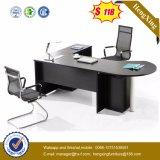 Tableau exécutif moderne de bureau de dessus de Tableau en verre Tempered de bureau (HX-ET14016)