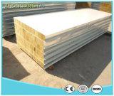 Billig aufbereitetes fasten Rockwool/Glaswolle-Zwischenlage-Panel für Behälter-Haus