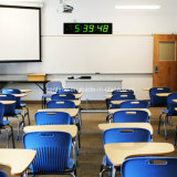 Big Size Électronique à 6 chiffres à 7 segments LED Horloge murale