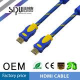 Kabel van de Kabel van de Hoge snelheid HDMI van Sipu 1.4V 3D Audio