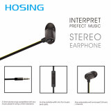 Hot Sale Steoro écouteurs intra-auriculaires Bluetooth MP3 / Phone écouteurs écouteurs
